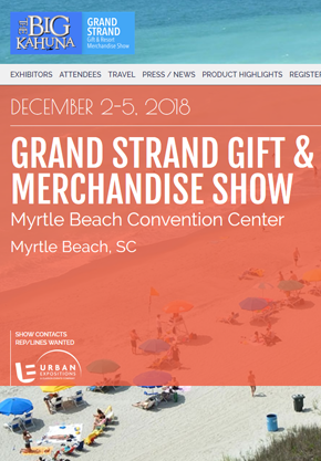 Booth #1300. Grand Strand Gift & Resort Show ...
